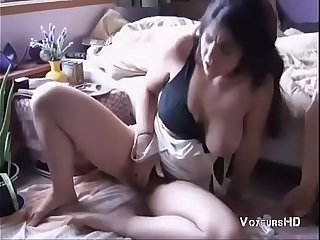 Hot Indian girl with Big Boobs fingering herself and moaning.