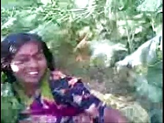 Desi village girl outdoor fucked by neighbor @ Leopard69Puma